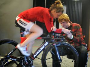 Bike Fit at Maverick Multisport Elite Camp