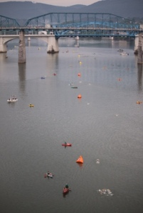 Chatt Swim course