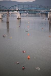 Chatt Swim course